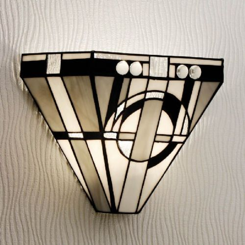 Metropolitan Wall Light (Art Deco, Wall Lamp) TM25W (Tiffany style)